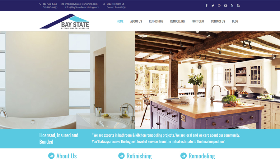 Bay State Refinishing & Remodeling