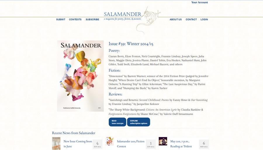 Salamander Magazines