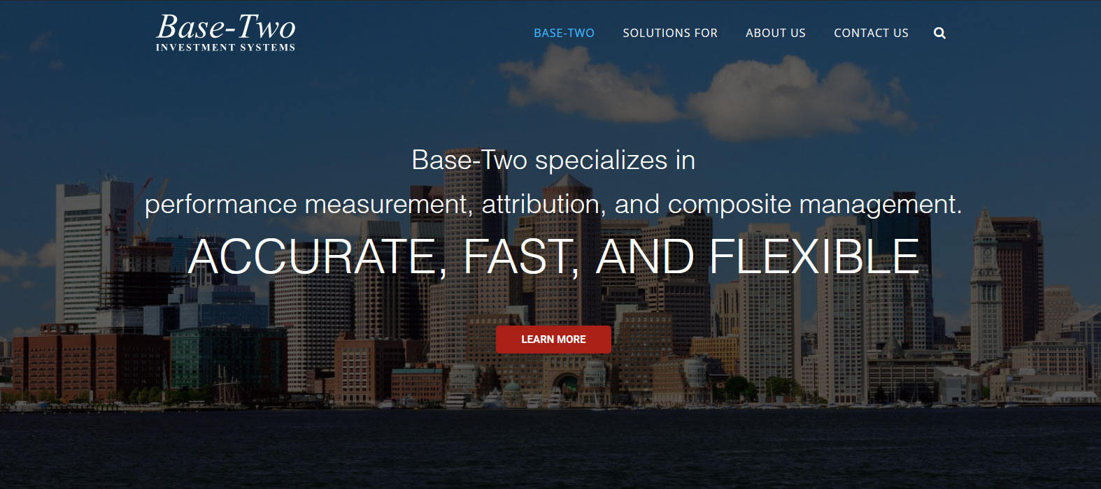 Financial Services Wordpress Website Bbds Design