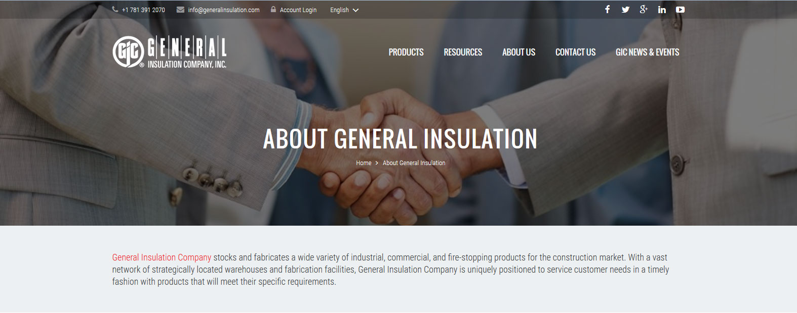 General Insulation Company - Products Distributor
