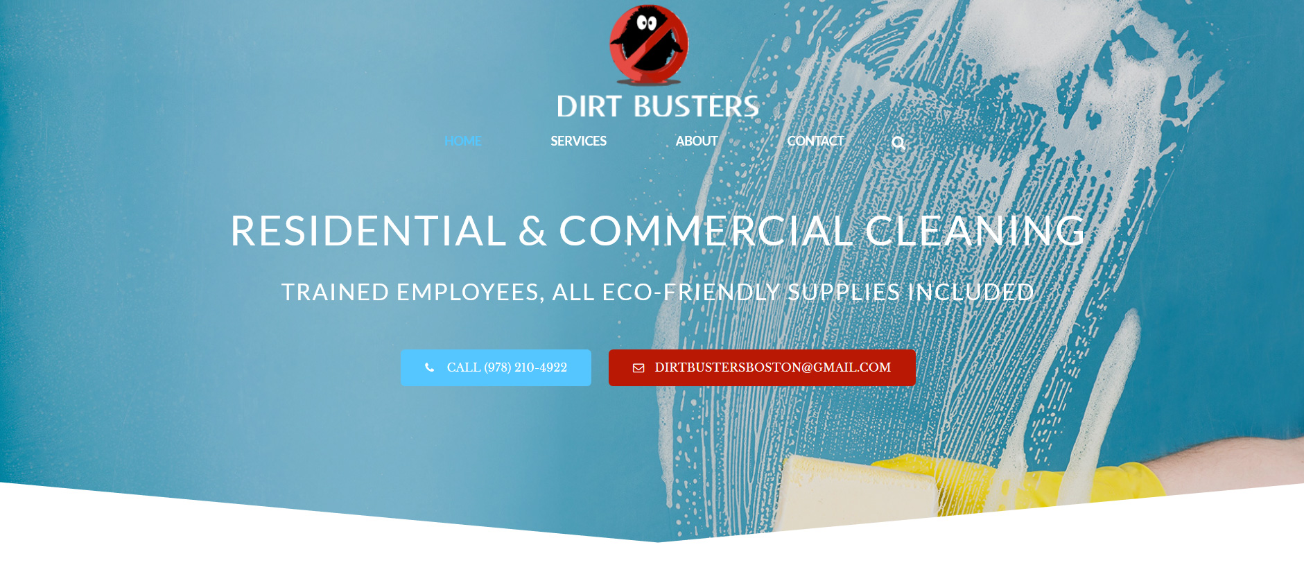 Residential & Commercial Cleaning Website