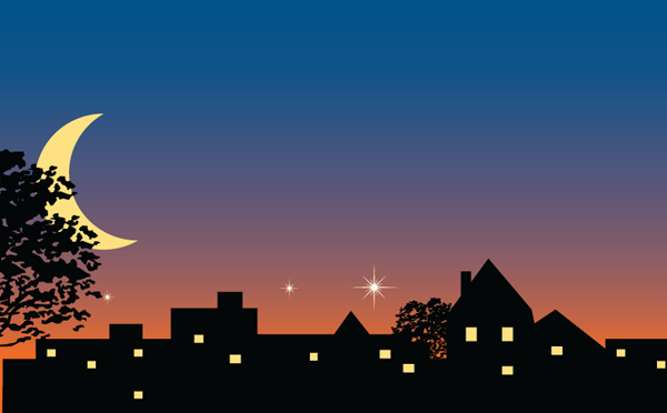 Continuing Education Website - Keefe At Night