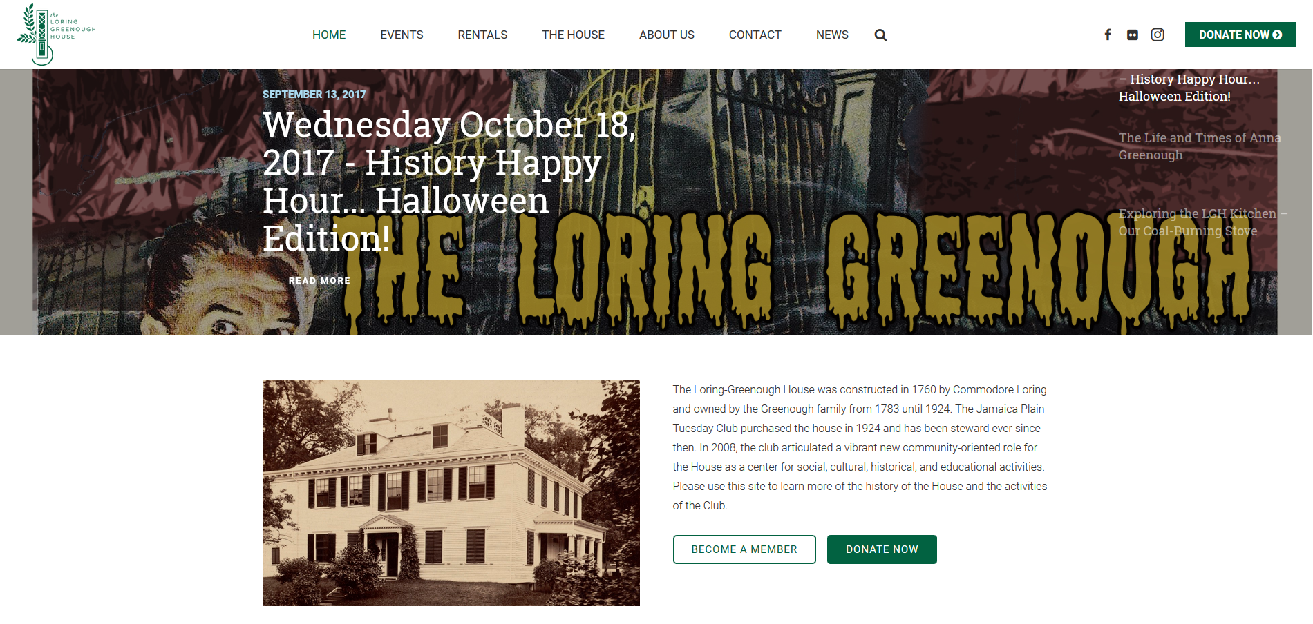 loring-greenough.org-home-page