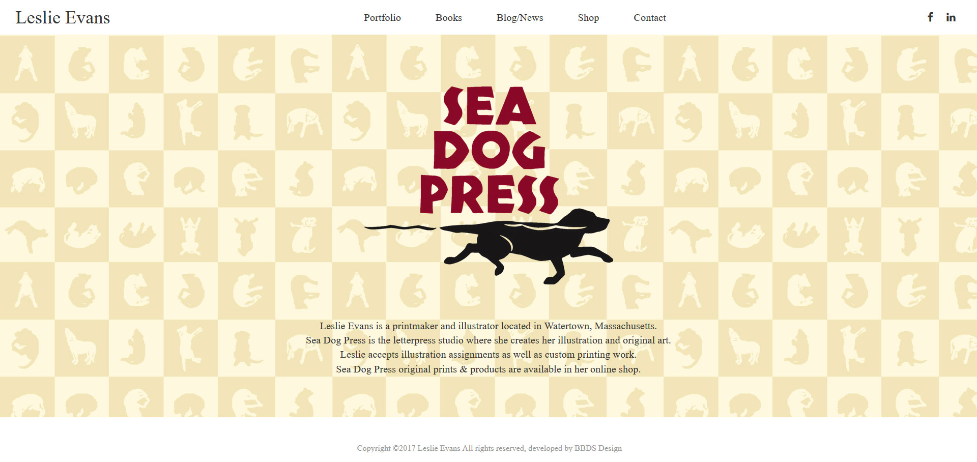 Sea Dog Press Homepage