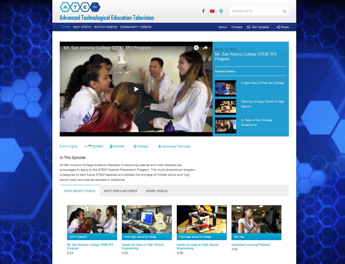 ateTV.org A Youtube streaming WordPress Website