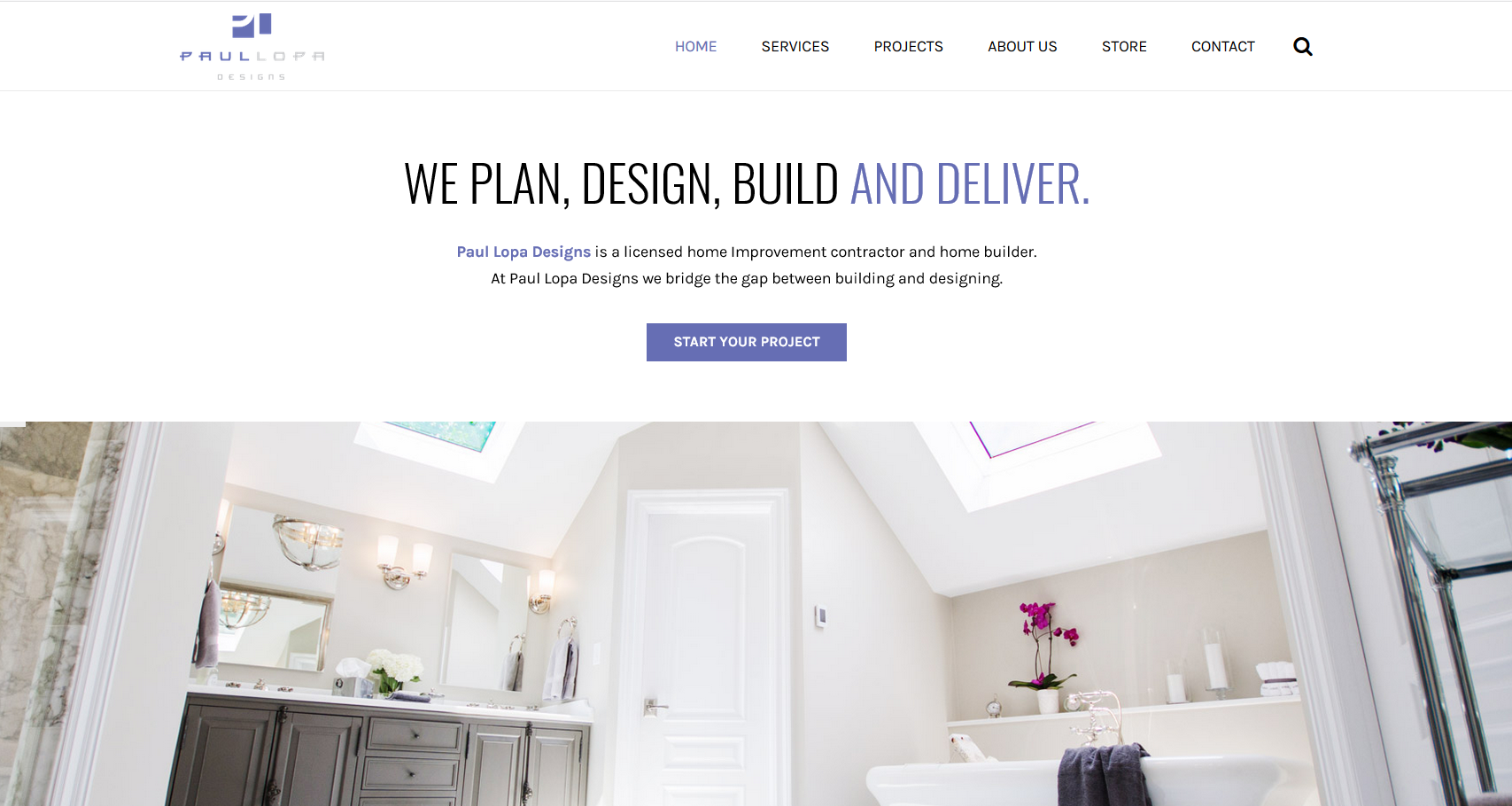 Paul Lopa Home Improvement Website