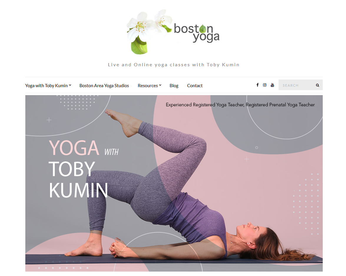 Live and Online yoga classes with Toby Kumin