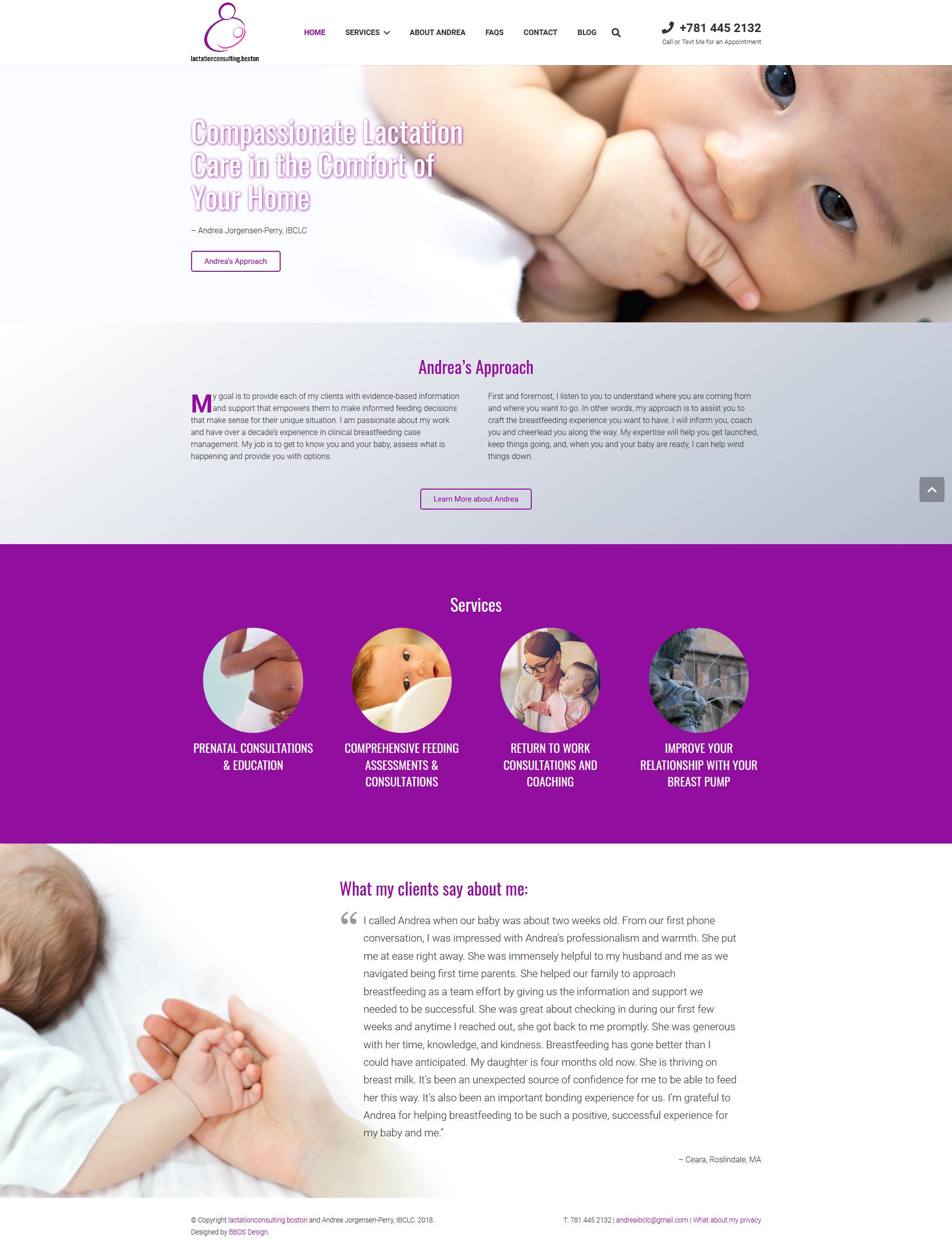 Lactation Consulting Boston - Consulting Business