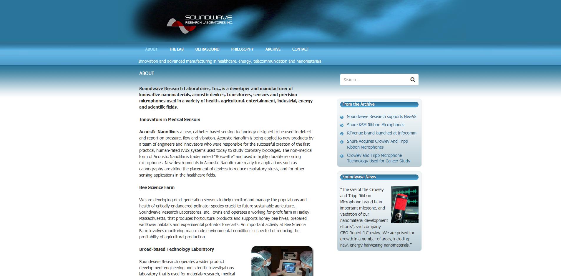 Soundwave Research Laboratories